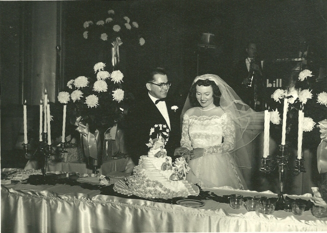 My parents.  Can you see the love?1952